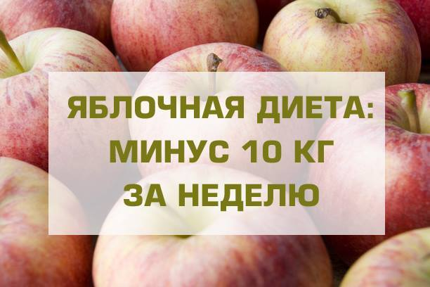 Нестандартная яблочная диета для похудения