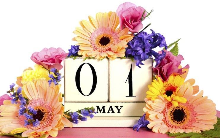 Днем, открытки с мая на английском