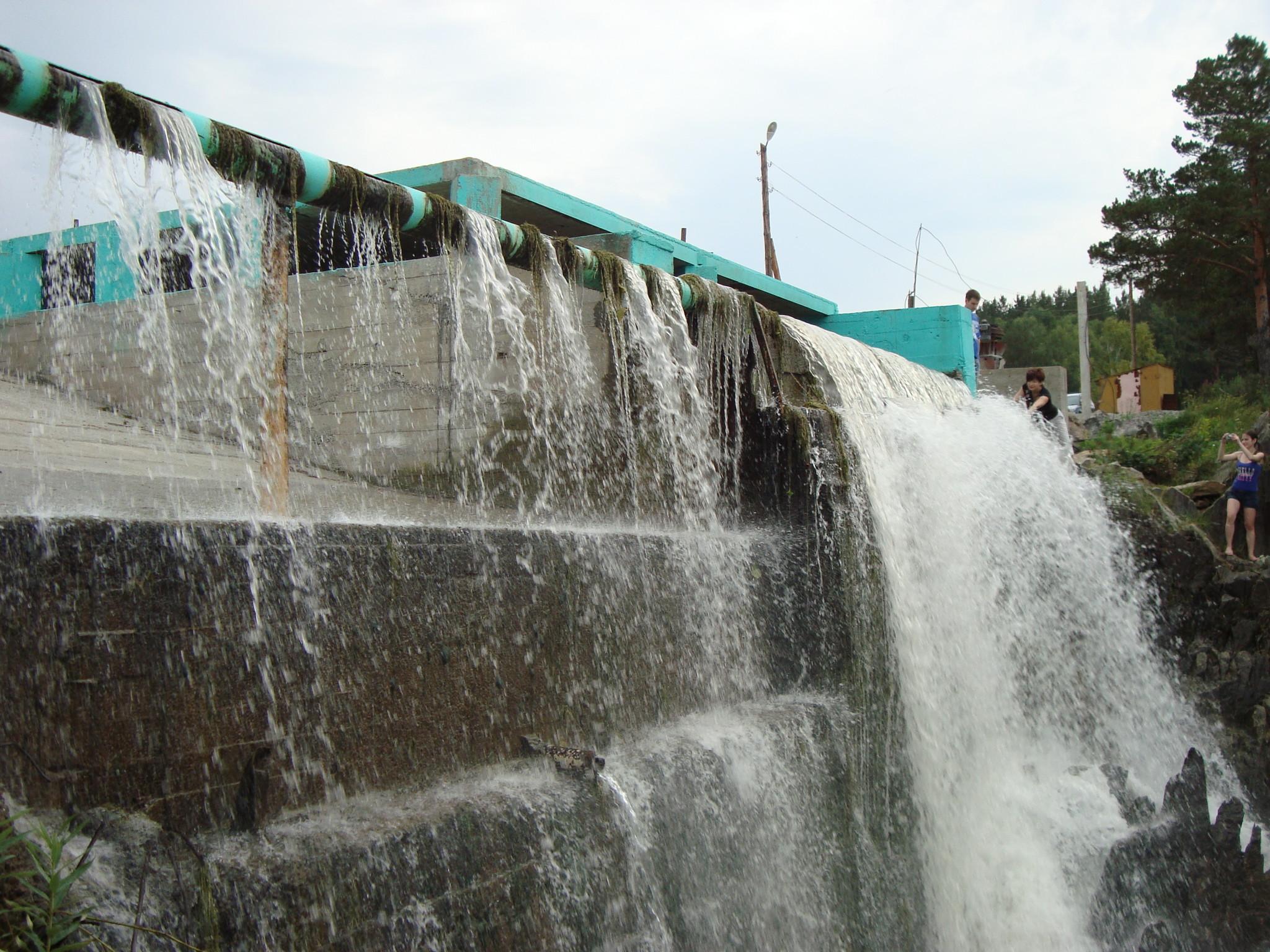 изменения карпысак водопад фото зимой что